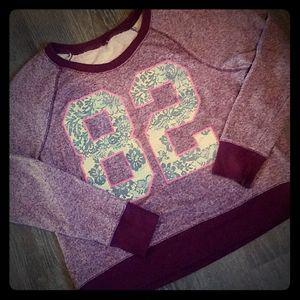 Mossimo cropped sweatshirt sz L